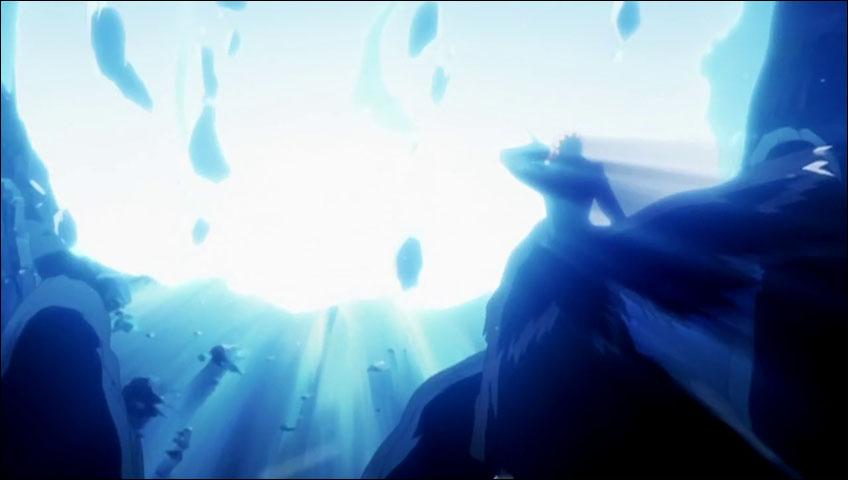 239 - ¡El despertar de Hyorinmaru! La lucha feroz de Hitsugaya